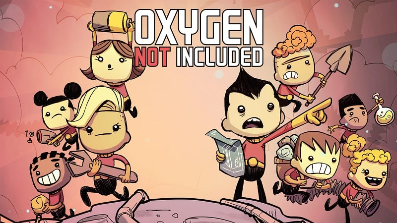 Oxygen Not Included viet hoa tai mien phi
