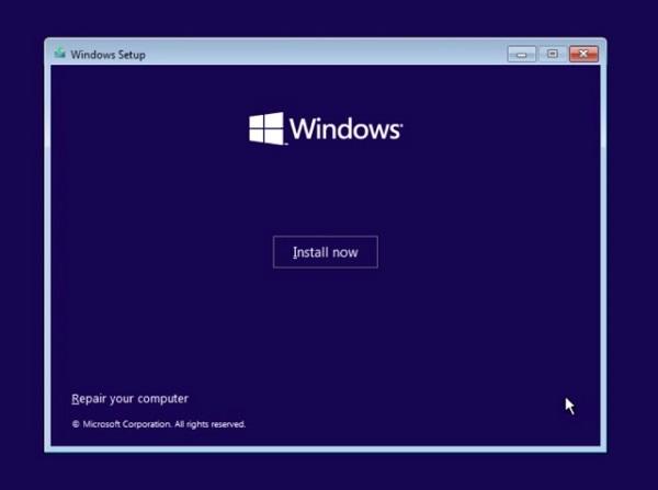 cài đặt windows 11 pro 64 bit