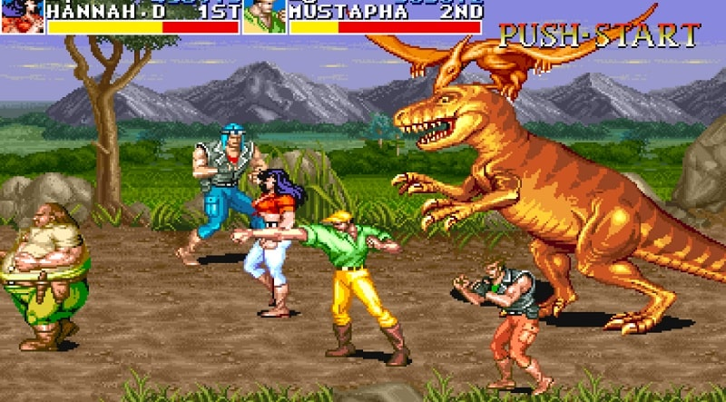 tải game ccadillacs and dinosaurs